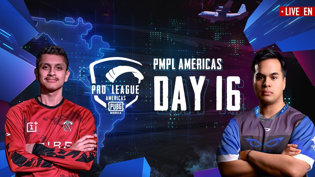 [EN] PMPL Americas Season 1 Day 16 | PUBG MOBILE Pro League 2020