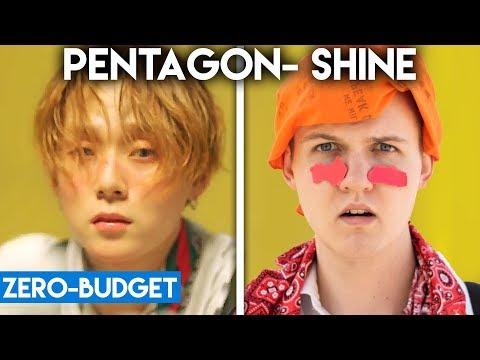 K-POP DENGAN ZERO BUDGET! (PENTAGON - SHINE)