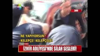 İzmir Adliyesi'nde silah sesleri!
