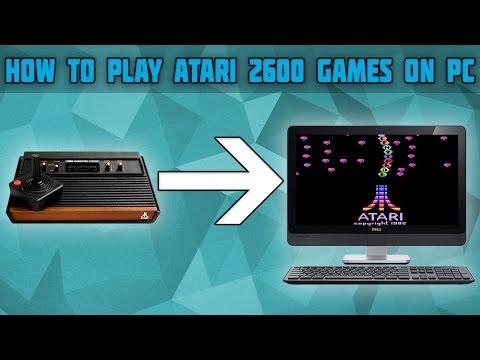 How To Play Atari 2600 Games On PC! Atari 2600 Emulator! Stella Emulator Setup! Stella Emulator!