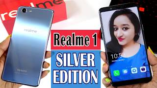 Realme 1 LIMITED SILVER EDITION - Unboxing & Overview- In Hindi