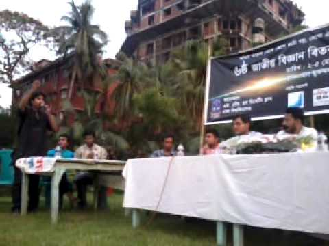 FH hall bebate 2012 final Shahidullah vs JU Hall ~Nahid from Jamalpur, Botany, Dhaka University