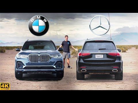 $90K FLAGSHIP FIGHT -- 2020 BMW X7 Vs. 2020 Mercedes GLS: Comparison