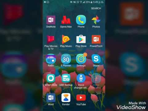 How to move apps to sd card Samsung Galaxy j2