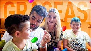 ¡¡¡ RETO DE LAS GRAGEAS !!! 😱Con Fati , Pino y Ares