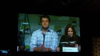 Comic Con 2010 - Castle Panel 2 of 7