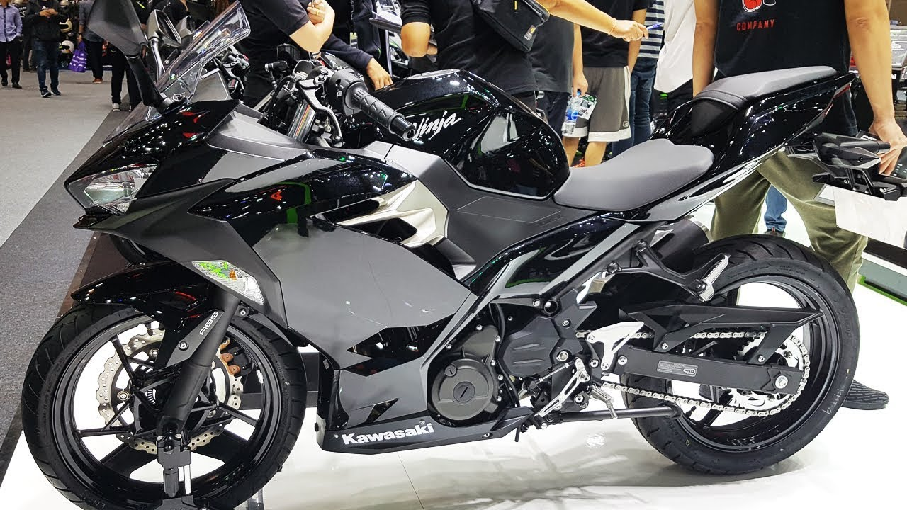 2018 New Kawasaki Ninja 250 Metallic Spark Black Youtube
