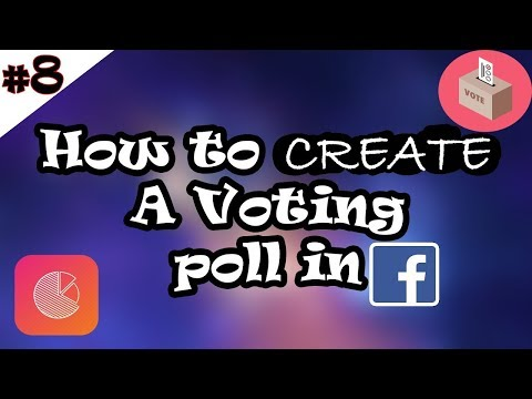 #8 Facebook || How to Create A Voting Poll in Facebook || [Hindi/Urdu]