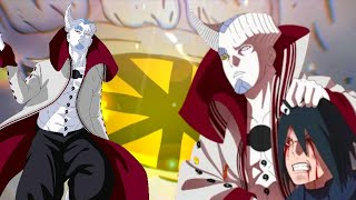 Kalahnya Rinnegan VS Dharmachakra Eight Path Isshiki. Boruto Menyelamatkan Sasuke Dari Kemati4n