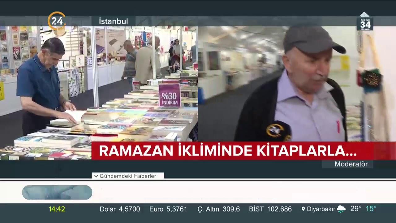 Türkiye Diyanet Vakfı tarafından düzenlenen 37. Türkiye Kitap ve Kültür Fuarı açıldı