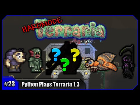 Python Plays Terraria || New Solar Eclipse & The Luck Returns! || Terraria 1.3 PC Let's Play [#23]