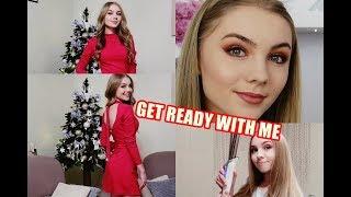 GET READY WITH ME: Święta | Makijaż, Fryzura & Strój