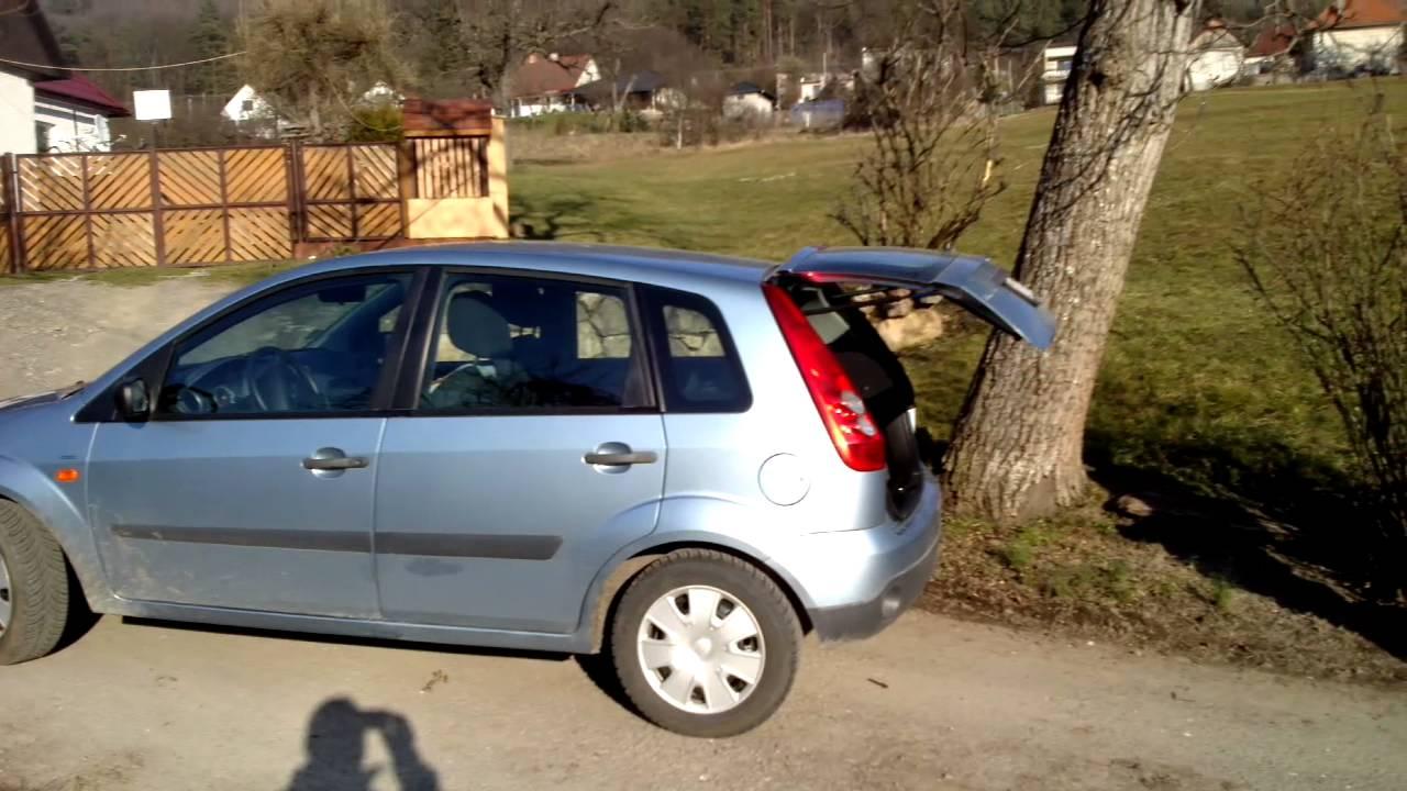 Ford Fiesta Automatic Lid Open/ Trunk Release