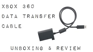 Xbox 360 Hard Drive Transfer Cable - Review & Unboxing