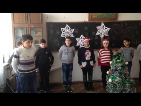Декабрь 2016_Новый год школа 36, Ереван