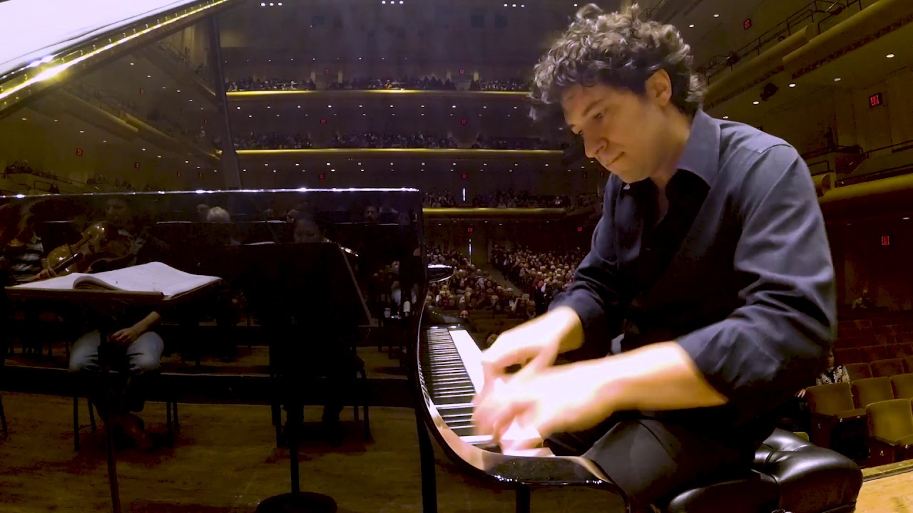 In Rehearsal: Gustavo Dudamel Conducts a NY Premiere by Esteban Benzecry