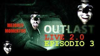 """YP - OUTLAST (Mejores momentos) - Cap 3. """"Los hermanos pene y los gordo-mole"""" LIVE 2.0"""