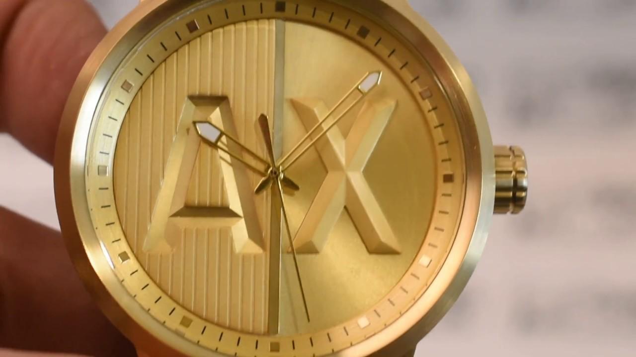 248d78195cd Relógio Armani Exchange AX1363 original - YouTube