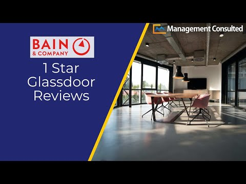 Bain Glassdoor 1 Star Reviews | Management Consulted