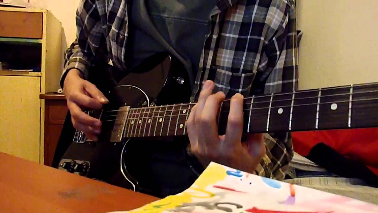 fright lined dining room guitar cover - youtube