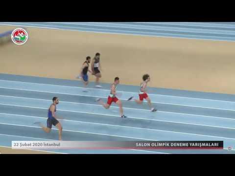 60m Men, Final, Salon Olympic, Istanbul TUR