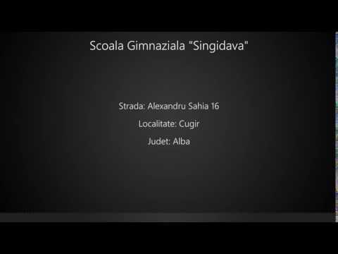 "Scoala Gimnaziala ""Singidava"""
