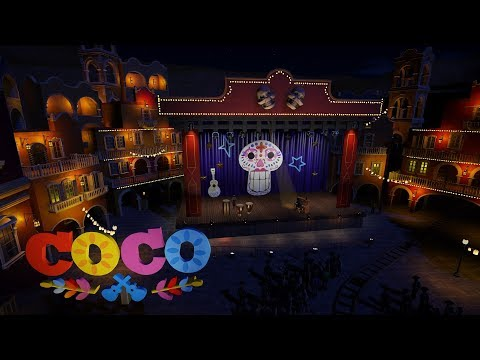Coco the Ride - Journey to the Land of the Dead (Planet Coaster - Pixar - Disney)