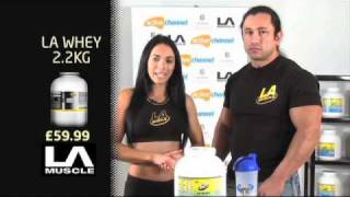 LA Muscle LA Whey Protein FACTS!