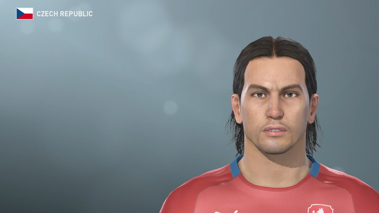 Milan Baros Pes 2019 Face Build Stats Classic Czech Liverpool Youtube