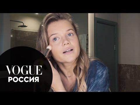 Секреты красоты: Мария Ивакова показывает, как сделать нюдовый макияж
