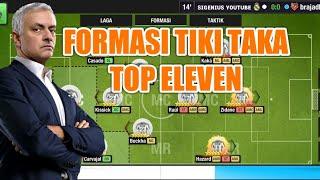 FORMASI TIKI TAKA (TOTAL FOOTBAL) GAMEPLAY PART 1   TOP ELEVEN 2020