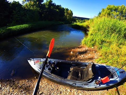 Kayak Fishing The Warm Fork and Cold Springs Access