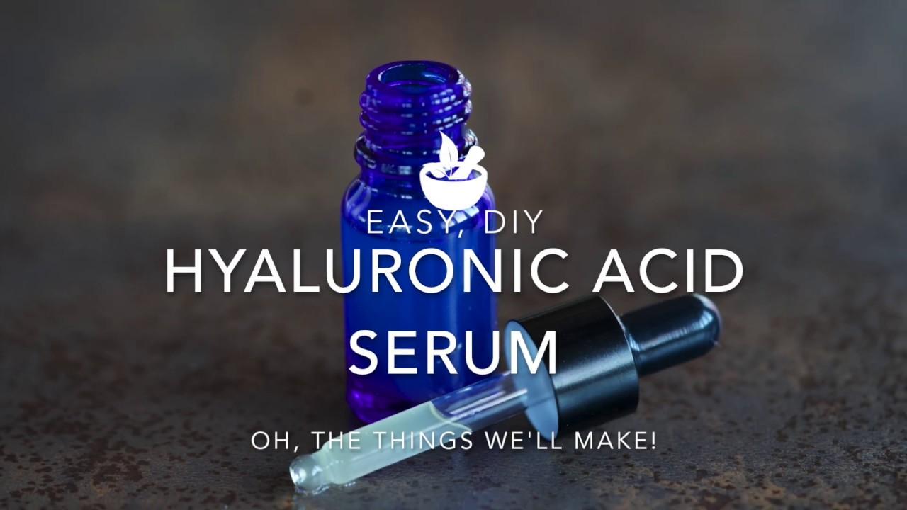 Hyaluronic Acid Serum Recipe - Oh, The Things We'll Make!