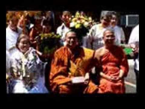 Buddha Statue blessing and Fund Raising Ceremony at the Buddhist Center of New England