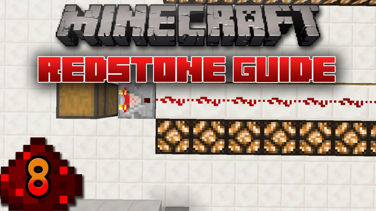 how to make a redstone repeater and comparator