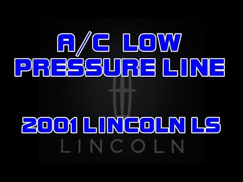 ⭐ 2001 Lincoln LS - 3.0 - AC Low Pressure Line - Recharge The Air Conditioning System