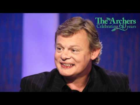 Martin Clunes describes his lifelong relationship with The Archers