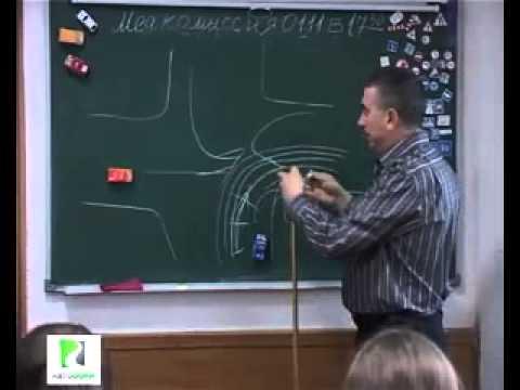 Полный курс ПДД (видео урок)