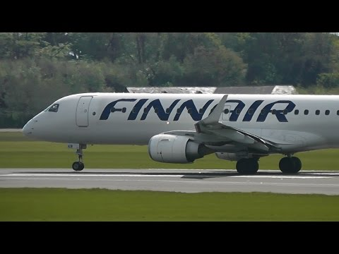 9 Embraer Regional Jets compilation   300,000 video views special