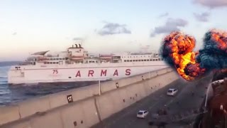 Detik-Detik Kecelakaan Kapal Ferry