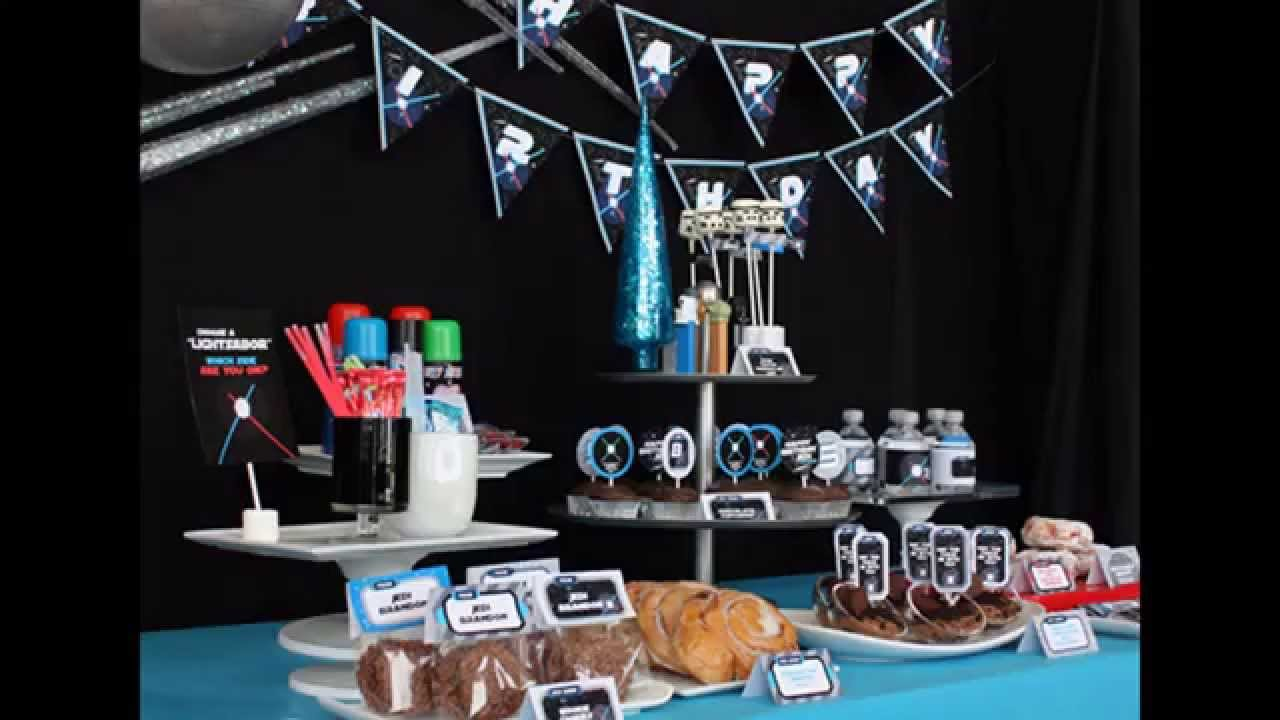 creative star wars birthday party decorations - Star Wars Decorations