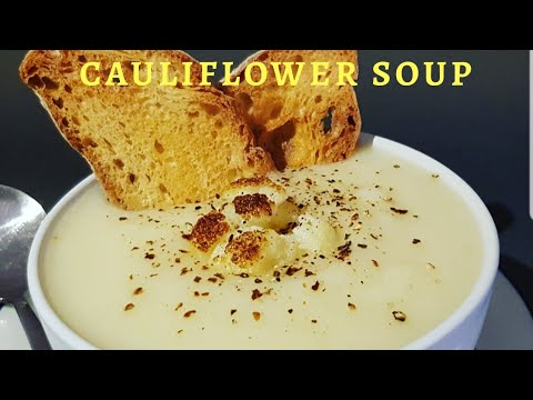QUICK AND EASY CAULIFLOWER SOUP | MYVERYSIMPLEC