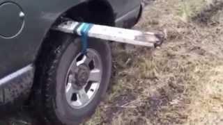 Çamura Saplanan Arabayı Kurtarma Tekniği