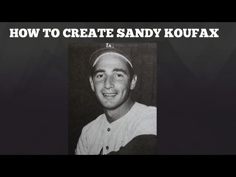 MLB The Show 16 | How to create an ACCURATE Sandy Koufax