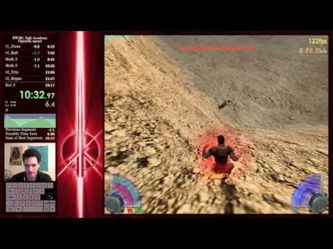 "WR 28:12 SW:JK - Jedi Academy ""Open-JK Speed"" Speedrun"