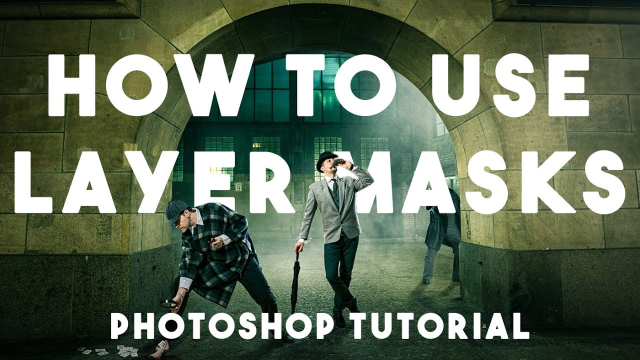 Layer Masks For Beginners - Photoshop Tutorial