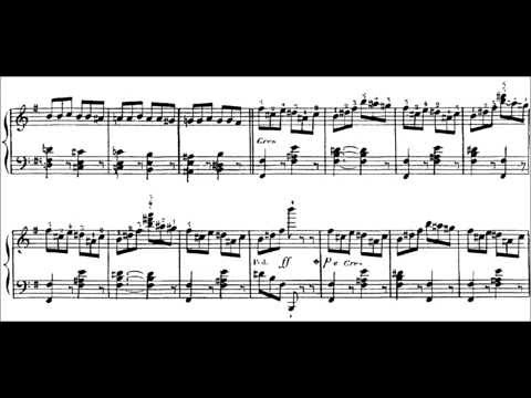 Charles-Valentin Alkan - Saltarelle Op. 23 (audio + sheet music)