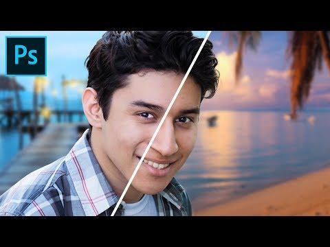 Come CAMBIARE Lo Sfondo In Modo FACILE E VELOCE In Photoshop CC
