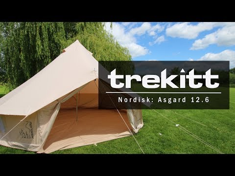 Inside Look & Setup: Nordisk Asgard 12.6m Cotton Tent