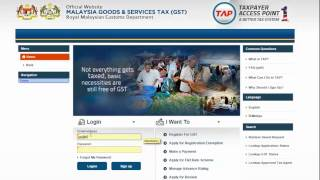 Cara Membuat Pembayaran GST